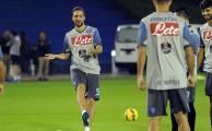Gli azzurri verso il match di Supercoppa con la Juventus di lunedì