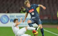Napoli, Strinic si allena insieme ai compagni - Corriere dello Sport.it